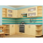 Кухня квадро клен 33